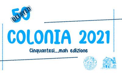 Chiuse le iscrizioni della Colonia 2021!